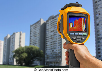 Recording Residential Buildings With Thermal Camera -...