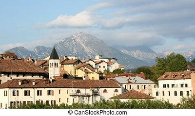Small Mountain Town - Time lapse