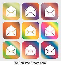 Mail, envelope icon