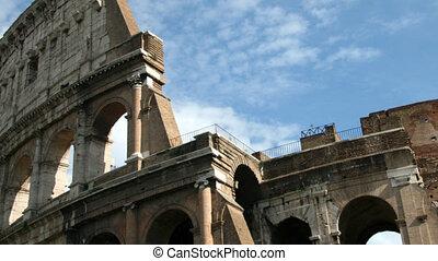 Coliseum, Rome - Detail Time lapse