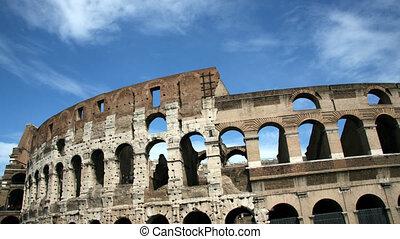 Coliseum, Rome - Time lapse