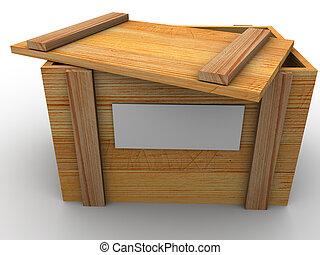 Crate 3d