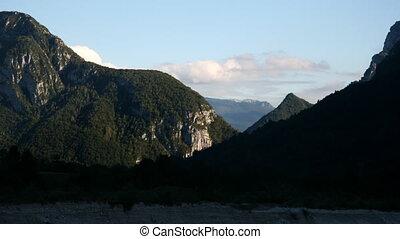 Mountain Time lapse - Dolomites, Italy