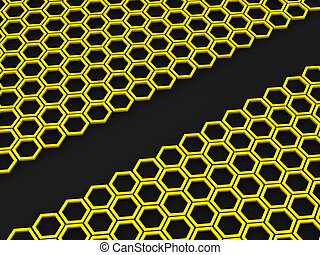 Honeycomb. Background