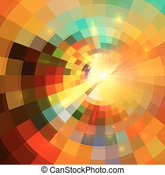 Colorful abstract mosaic mottled background - Colorful...