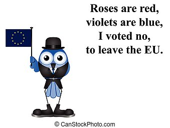 Voted to stay in the EU poem - Comical United Kingdom voter...