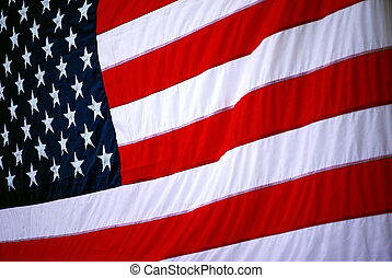 USA Flag - Background image of the United States of America...