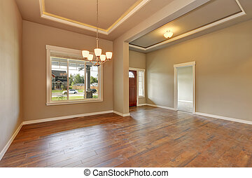 Entrance hall of brand new house - Entrance hall of brand...