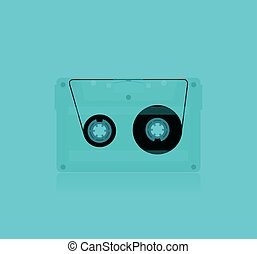 Classic MC Cassette - Classic transparent MC Cassette,...