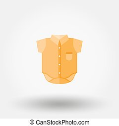 Baby shirt icon - Baby shirt Icon for web and mobile...