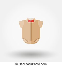 Baby shirt icon. - Baby shirt. Icon for web and mobile...