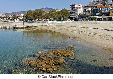 Limenaria, Thassos island, Greece - Beach of Limenaria,...
