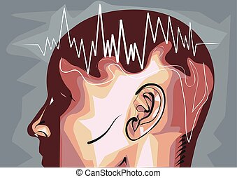 brain waves eeg waveforms produced by brain activity