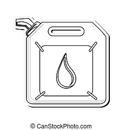 Gasoline canister icon