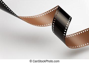 movimiento, imagen, 35 mm, película