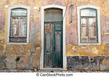 Old house in Algarve, Portugal
