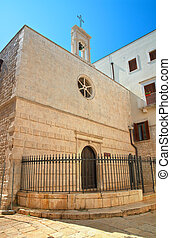 Church of St. Andrea. Molfetta. Puglia. Italy.