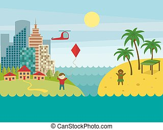 Developed and underdeveloped countries vector - Developed...