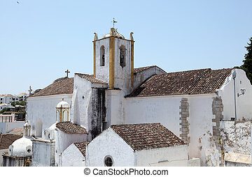 Igreja de Santiago (Santiago church) in Tavira, Portugal