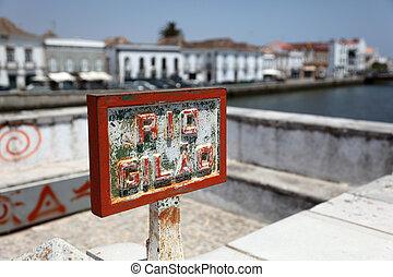 Rio Gilao in Tavira, Algarve Portugal