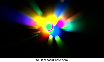 color circle light,disco ray
