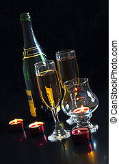 New Years Eve Celebration - New Years Eve, champagne festive...