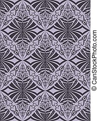 Seamless dark vintage purple vector pattern.