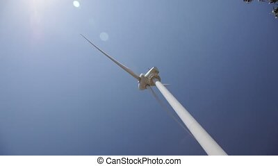 Wind turbine - Electricity generating wind turbine
