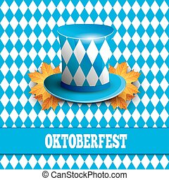 Oktoberfest German beer festival.  celebration design