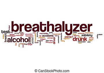 Breathalyzer word cloud