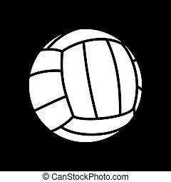 volley balls - Vector illutration of the volleball ball