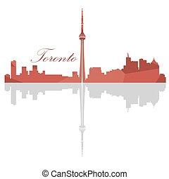 Isolated Toronto Skyline