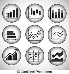 charts, graphs and diagrams