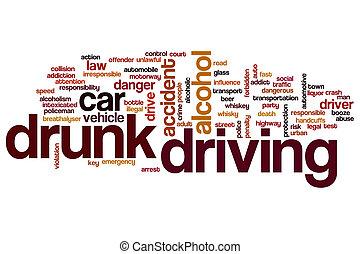 Drunk driving word cloud