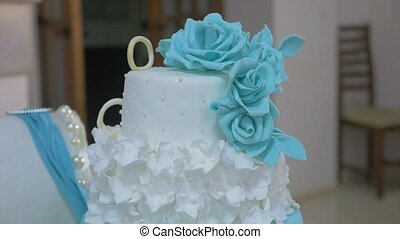 wedding cakebeautiful wedding cake is the restaurant video -...