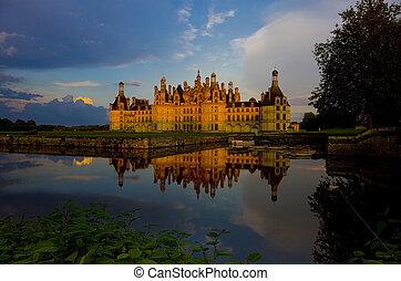 Chambord Castle, Loir-et-Cher, Centre, France