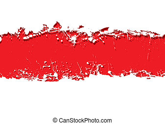 grunge strip background blood
