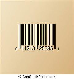 Vintage Bar Code Illustration - Vintage Bar code vector...