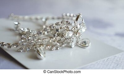 tiara for the bride silver on video the table - tiara for...