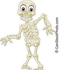 dia das bruxas, esqueleto