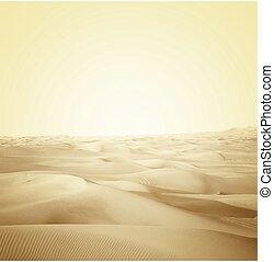 dunes in the desert - landscape dunes in the desert