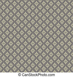 seamless damask pattern in pale pastel tones