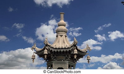 territory Big Wild Goose Pagoda - On the territory Giant...