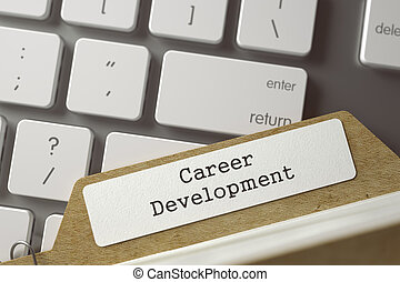 Archive Bookmarks of Card Index Career Development - Index...