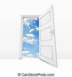 天堂, 門