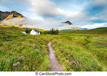 Mountain Bothy - A cottage in the mountains at Glencoe in...