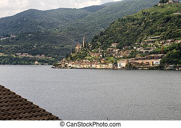 Ceresio lake Ticino, Switzerland - The Ceresio Lake Ticino,...