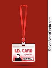 id lanyard card
