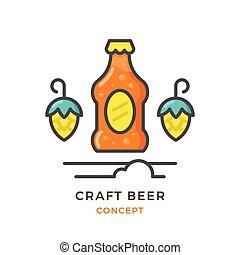 Craft beer concept