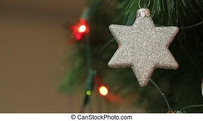 Christmas decorations in the shape of a star